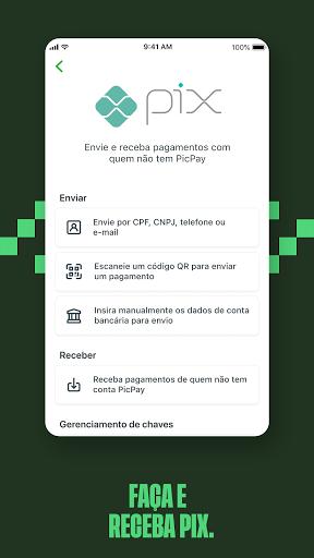 PicPay: Pagamentos, Transferências, Pix e Cashback screenshot 8