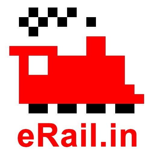 eRail.in Railways Train Time Table, Seats, Fare icon