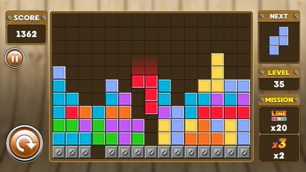 Block Puzzle 3 : Classic Brick 15 تصوير الشاشة