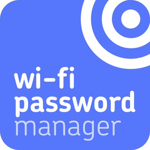Wi-Fi password manager icon