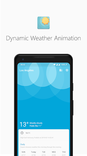 Geometric Weather screenshot 1