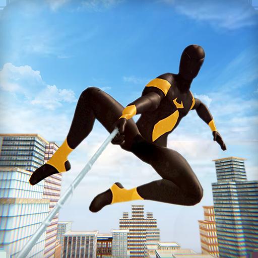 Amazing Rope Hero 2020 icon