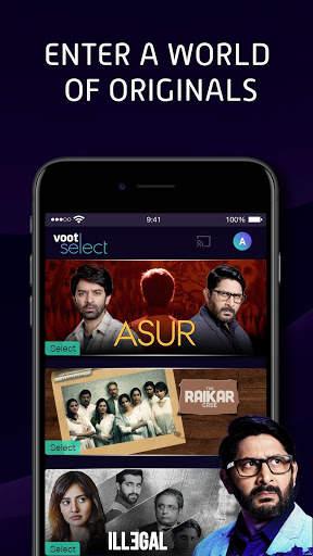Voot Select Originals, Colors TV, MTV & more screenshot 3