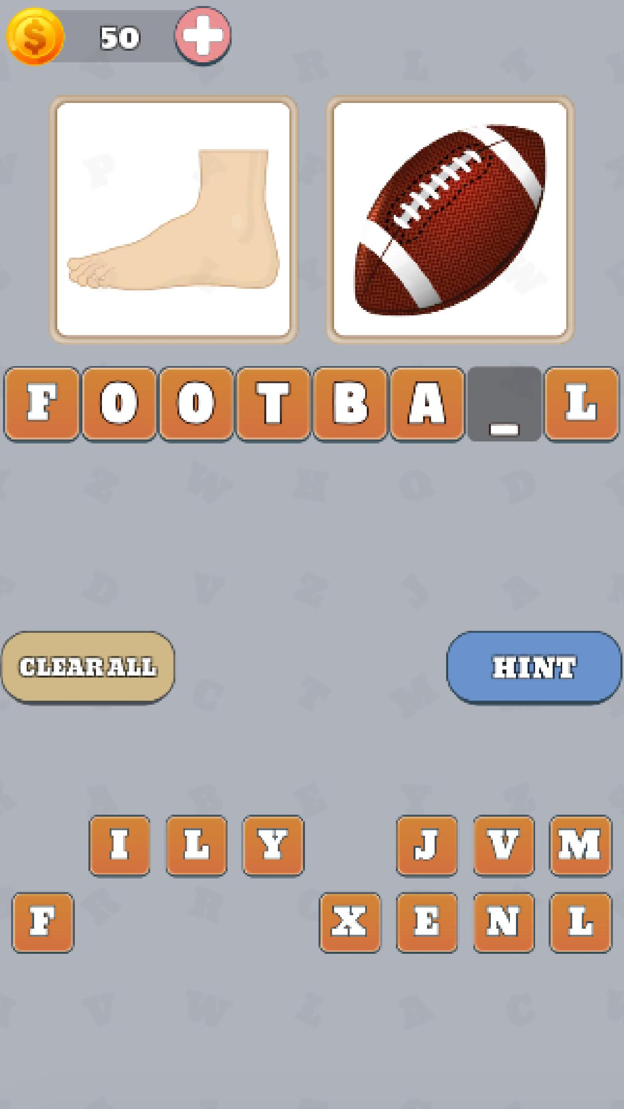 Pictures to word - picture quiz screenshot 3