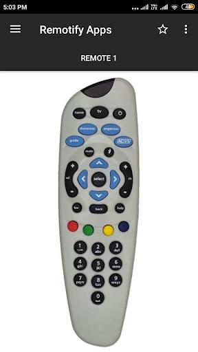 Tata Sky Remote Control 1 تصوير الشاشة
