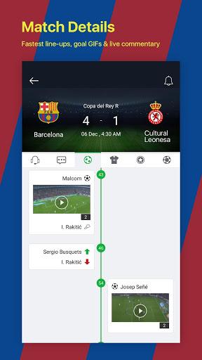 All Football - Barcelona News & Live Scores screenshot 4