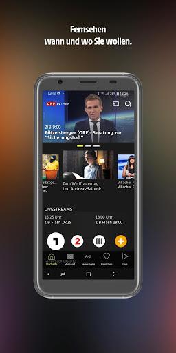 ORF TVthek: Video on demand screenshot 1