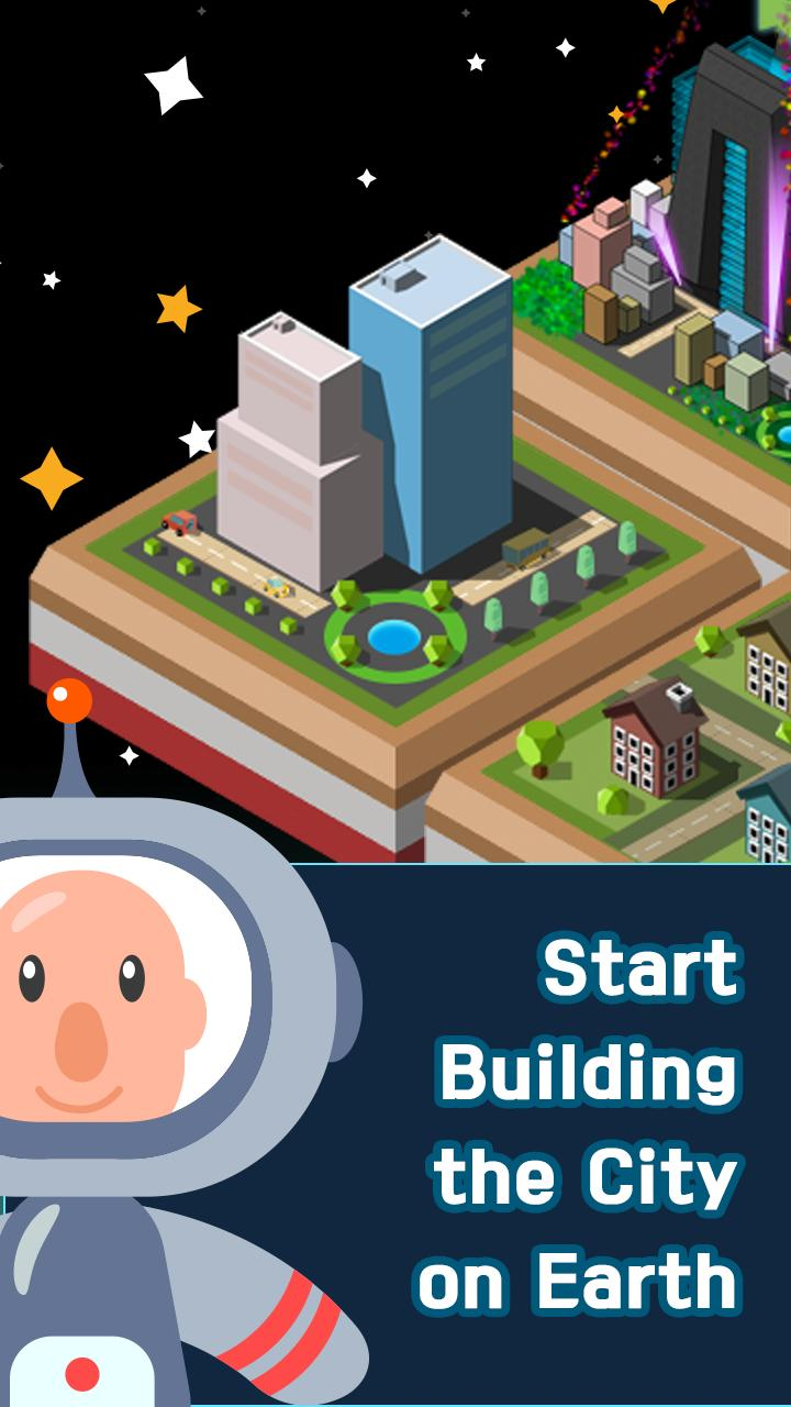 Galaxy of 2048 : Space City Construction Game screenshot 6