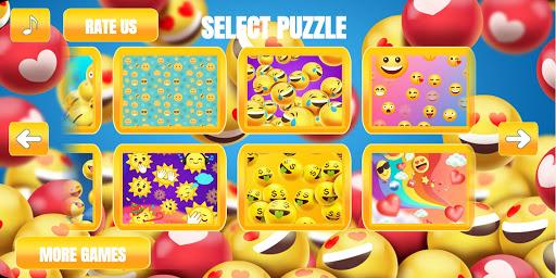 Emoji puzzle 1 تصوير الشاشة