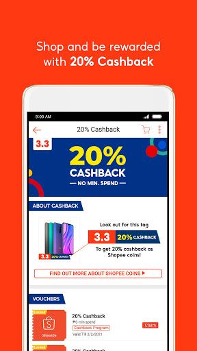 Shopee 3.3 Mega Shopping Sale 4 تصوير الشاشة