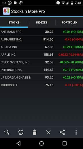 Stocks n More 1 تصوير الشاشة