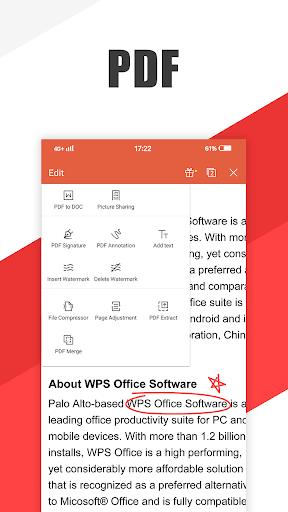 WPS Office - PDF, Word, Excel, Novel, Buku gratis screenshot 5