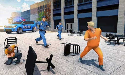 US Police ATV Quad Bike Hummer: Police Chase Games screenshot 6