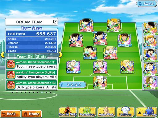 Captain Tsubasa (Flash Kicker): Dream Team स्क्रीनशॉट 17