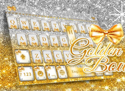 Golden Bow Keyboard Theme screenshot 5