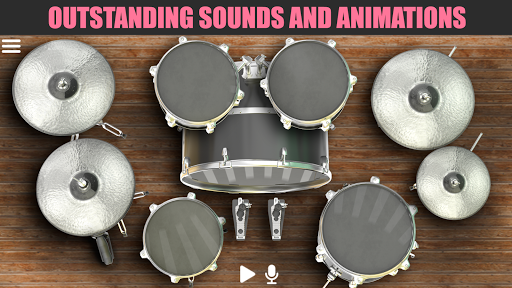 Drum Solo HD  -  The best drumming game 3 تصوير الشاشة