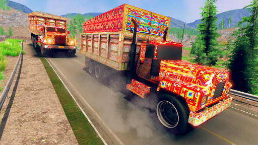 Asian Truck Simulator 2020: เกมขับรถบรรทุก screenshot 3