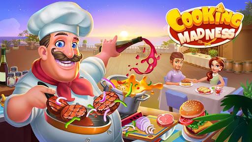 Cooking Madness - A Chef's Restaurant Games 1 تصوير الشاشة