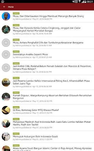 Fokus Islam 5 تصوير الشاشة