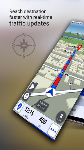 GPS Live Navigation, Maps, Directions and Explore screenshot 1