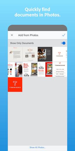 Adobe Scan: PDF Scanner with OCR, PDF Creator 8 تصوير الشاشة