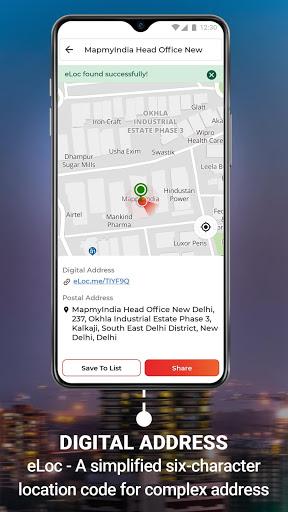 MapmyIndia Move: Maps, Navigation & Tracking скриншот 4