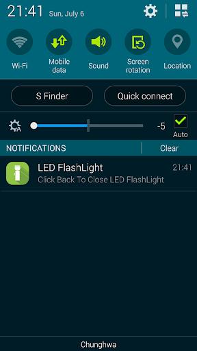 Super Flashlight - SOS Blink screenshot 11
