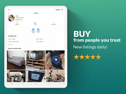 OfferUp: Buy. Sell. Letgo. Mobile marketplace screenshot 8