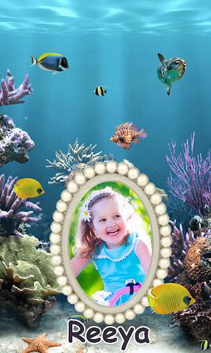 Aquarium Photo Frames 2 تصوير الشاشة