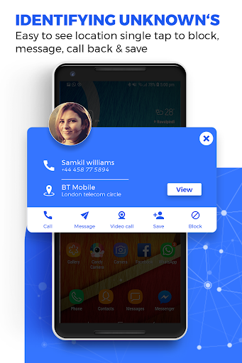 Caller ID Name Locator & Tracker, Spam blocking screenshot 5