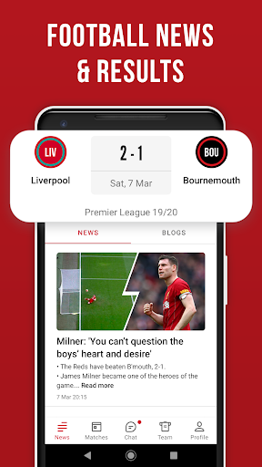 LFC Live – Unofficial app for Liverpool fans скриншот 2