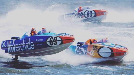 Speed Boat Racing Wallpaper screenshot 9