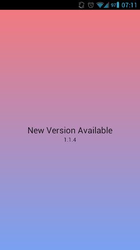 New Version Available 3 تصوير الشاشة