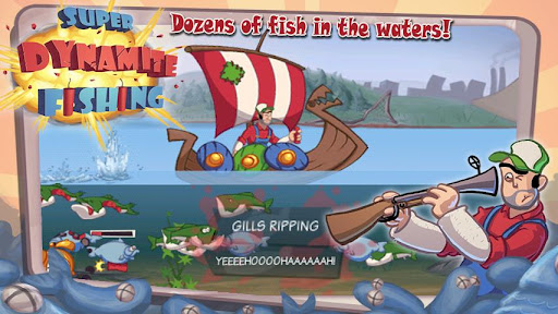 Super Dynamite Fishing Premium screenshot 3