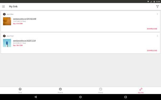 Send Anywhere (File Transfer) screenshot 10