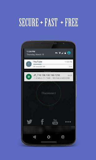 Solo VPN - One Tap Free Proxy 3 تصوير الشاشة