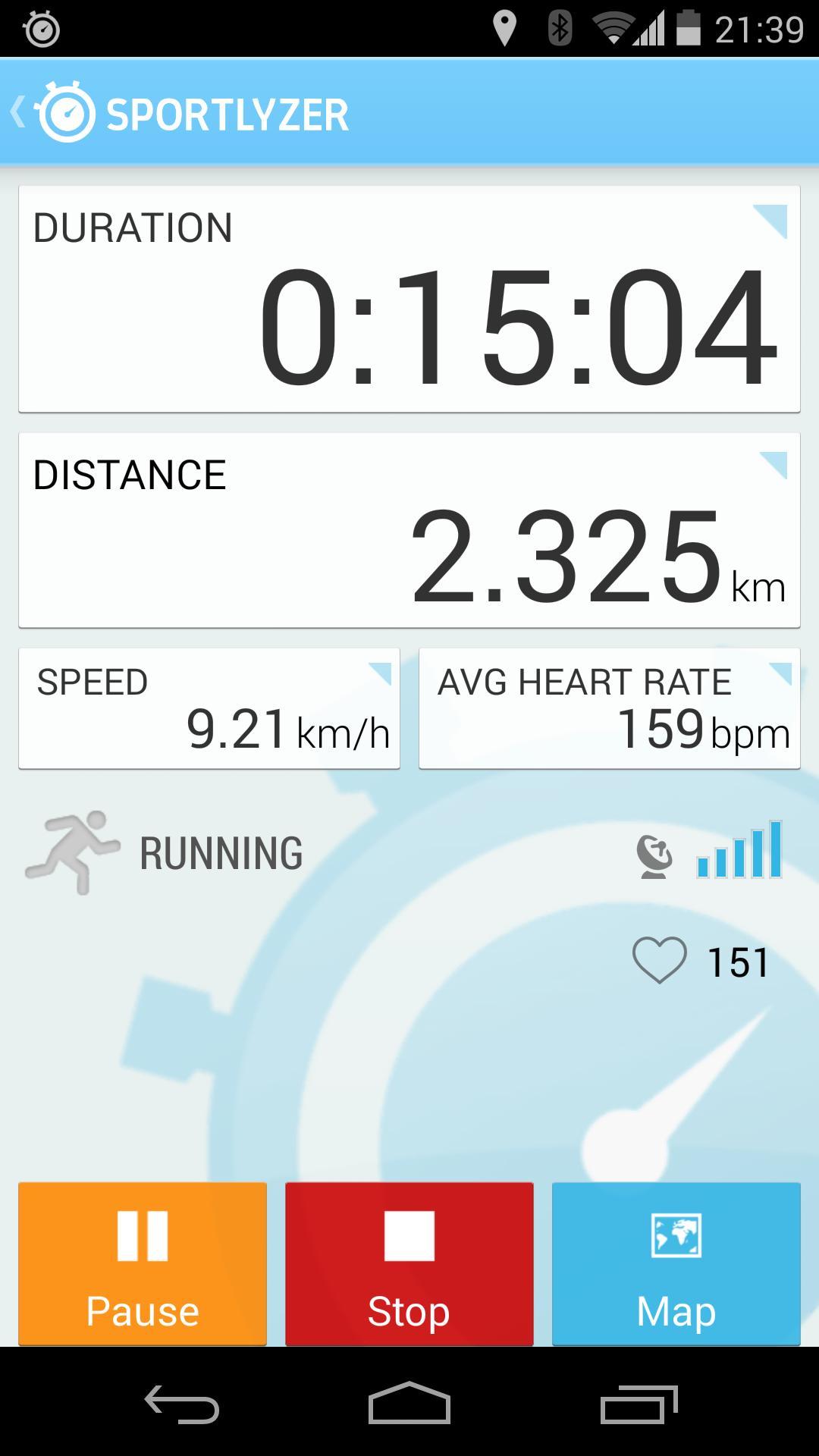 Sportlyzer Pro Player App screenshot 4