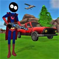 Stickman Superhero on 9Apps