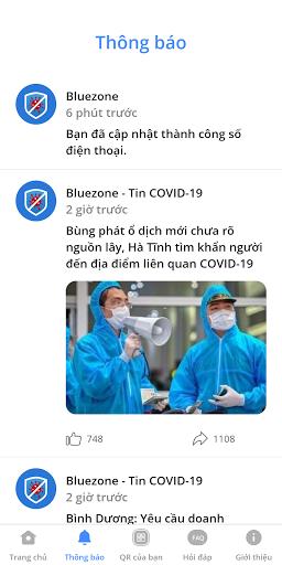 Bluezone - Phát hiện tiếp xúc screenshot 2