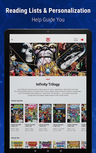 Marvel Unlimited 13 تصوير الشاشة