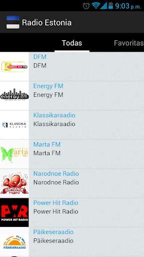 Estonia Radio screenshot 2