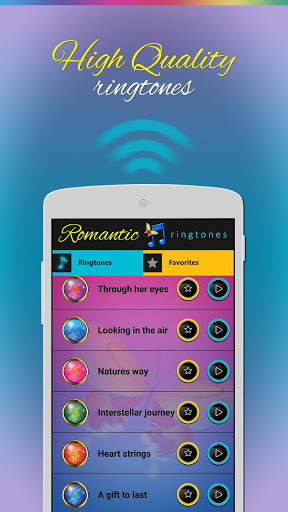 Romantic ringtones screenshot 2