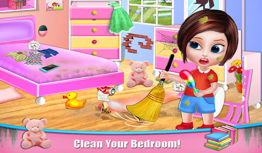 House Cleaning - Home Cleanup Girls Game screenshot 9