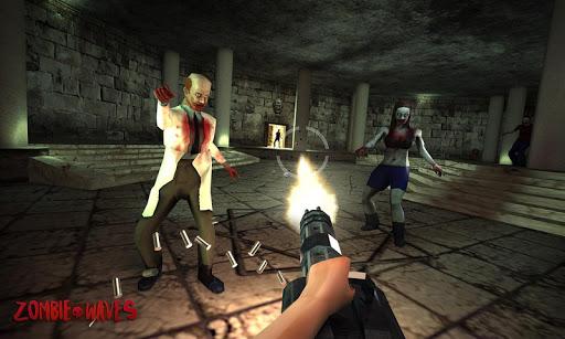 Zombie Waves 3D 3 تصوير الشاشة