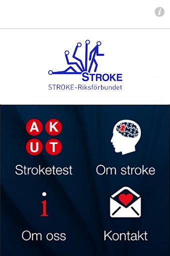 AKUT Stroketest STROKE - Riksförbundet screenshot 1