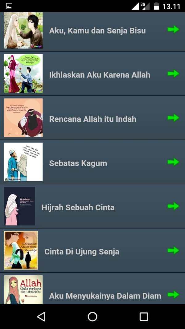 Cerpen Remaja Islami Offline screenshot 3