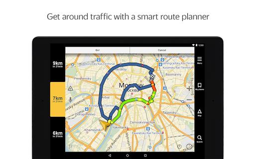 Yandex.Navigator 5 تصوير الشاشة