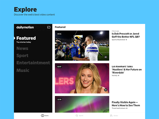 Dailymotion - the home for videos that matter screenshot 5