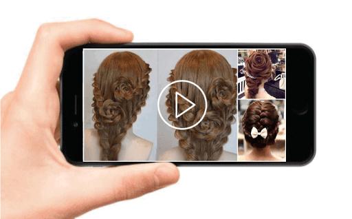 School Hairstyles Step By Step, Braiding Hairstyle screenshot 2