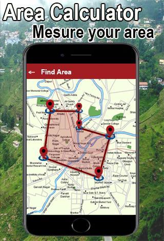 Mobile se jamin napna | Map Area Calculator screenshot 2